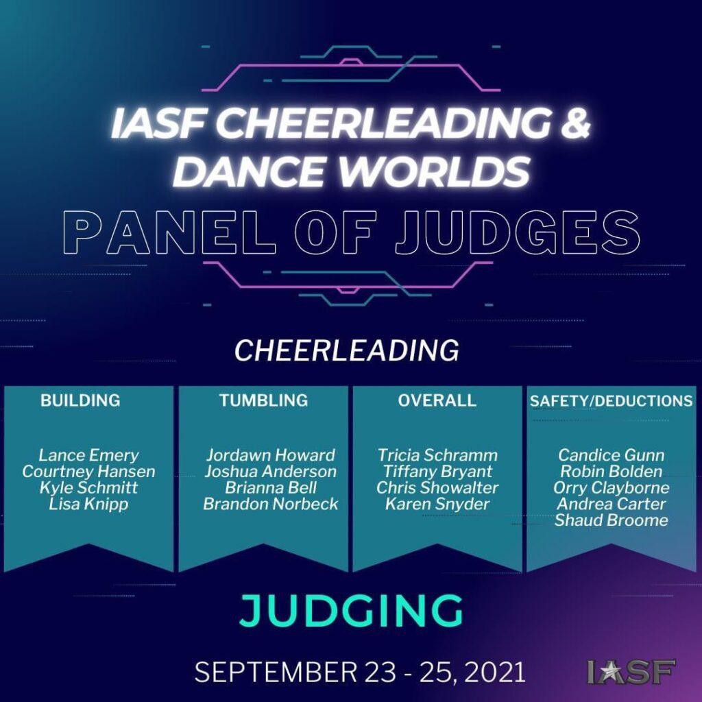 IASF 2021 Judges